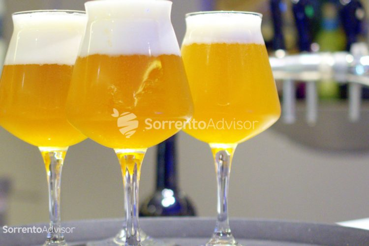 la birra a Sorrento