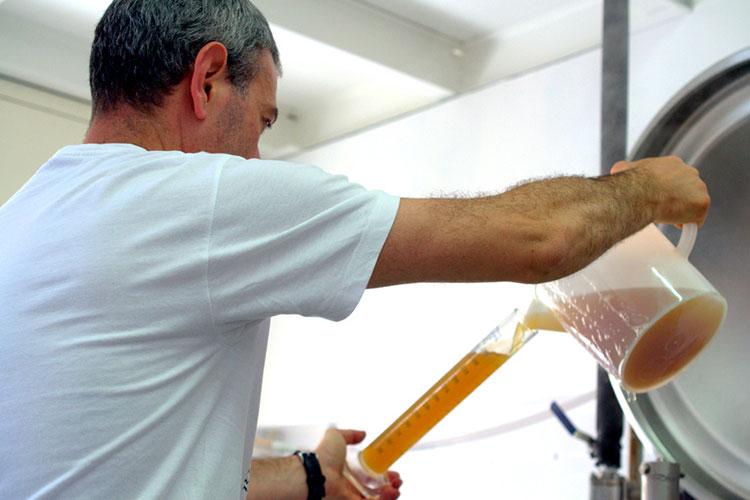 come si produce la birra a sorrento
